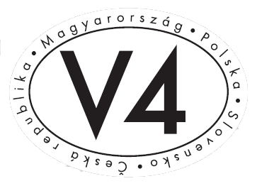 The Visegrad Group: the Czech Republic, Hungary, Poland and Slovakia |  Logotype of the Visegrad Group and the International Visegrad Fund: